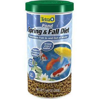 Tetra Pond Spring & Fall Diet